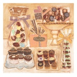Chocolate Display 2 Prints by Maret Hensick