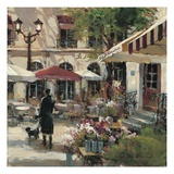 Floral Promenade Poster by Brent Heighton
