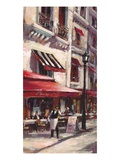 Café Marseille Poster by Brent Heighton