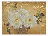 Heirloom Bouquet 3 Poster by Cristin Atria