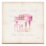 Little Piano Giclee Print by Lauren Hamilton