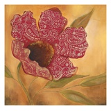 Filigree Poppy 1 Prints by Sandra Smith