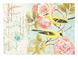 Notes of a Rose Giclee Print by Kathryn White