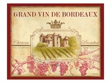 Grand Vin De Bordeaux Giclee Print by Devon Ross