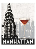 Manhattan Destination Print by Marco Fabiano