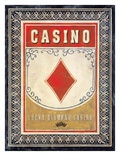Casino Diamond Giclee Print by Angela Staehling