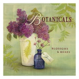 Blossoms and Herbs Art by Angela Staehling