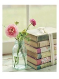 Blooming Books Lmina gicle por Mandy Lynne