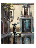 Boulevard Hotel Giclee Print by Brent Heighton
