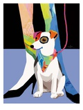Bandana Dog Posters by Patti Mollica