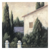 Lavender Villa Detail Giclee Print by James Wiens