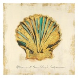 Gilded Ocean Scallop Giclee Print by  Studio 5
