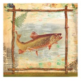 Trout Nature Giclee Print by Walter Robertson