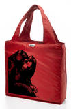 RuMe Steez Monkey Thinker Reusable Tote Bag - Crimson Tote Bag