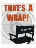 That's a Wrap Prints by Marco Fabiano