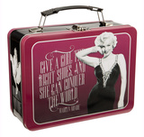 Marilyn Monroe Tin Lunchbox Lunch Box