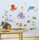 Adventures Under the Sea Peel & Stick Wall Decals Wall Decal