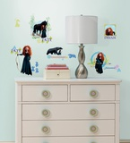 Brave Peel & Stick Wall Decals Wall Decal