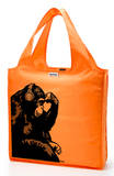 RuMe Steez Monkey Thinker Reusable Tote Bag - Tangerine Tote Bag