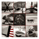 Aircraft Montage Giclee Print by Matt McCarthy