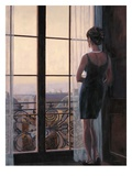 Waiting for Paris 2 Giclee Print by Myles Sullivan