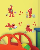 Sesame Street - Elmo-Centric Peel &amp; Stick Wall Decals Wall Decal