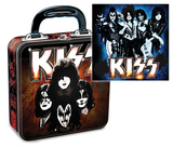 KISS Square Tin Lunchbox Lunch Box