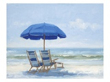 Beach Chairs 1 Posters by Jill Schultz-Mgannon