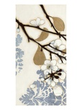 Damask Cherry Blossoms 1 Premium Giclee Print by Norman Wyatt Jr.