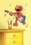 Sesame Street - Elmo Rock n Roll Guitar Peel & Stick Giant Wall Decal Autocollant mural