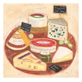 Cheese Plate 1 Print by Maret Hensick
