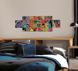 Art of Board Circle Inside Square Peel & Stick Giant Wall Decals Wall Decal