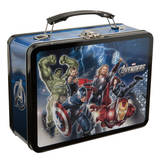 Marvel&#39;s The Avengers Tin Lunchbox Lunch Box