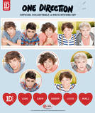 One Direction Sticker Set Stickers