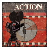 Ready Set Action Giclee Print by Sandra Smith