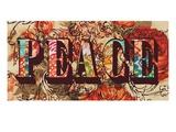 Hand Crafted Peace Poster par Bella Dos Santos