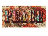 Hand Crafted Peace Poster by Bella Dos Santos