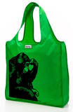 RuMe Steez Monkey Thinker Reusable Tote Bag - Grass Tote Bag