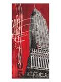 Lexington Avenue Icon Reproduction proc&#233;d&#233; gicl&#233;e par Evangeline Taylor