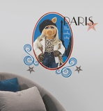 Muppets - Miss Piggy Peel & Stick Giant Wall Decal Wall Decal