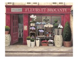 Fleurs and Brocante Giclee Print by James Wiens