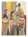 Cultural Trio 1 Giclee Print by Norman Wyatt Jr.