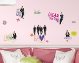 Big Time Rush Peel &amp; Stick Wall Decals Autocollant mural