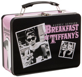 Audrey Hepburn Large Tin Lunchbox Lunch Box