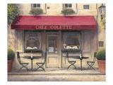 Chez Colette Poster by James Wiens