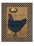 Country Living Hen Poster von Luanne D'Amico