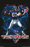 Houston Texans Quarterback Mascot Print