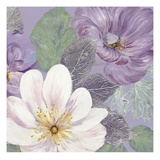 Plum and Lavender Garden 2 Prints by Colleen Sarah