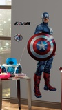 Avengers - Captain America Peel &amp; Stick Giant Wall Decal Wall Decal