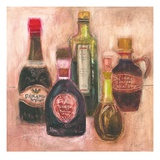 Balsamic Vinegar Sketch Print by Maret Hensick